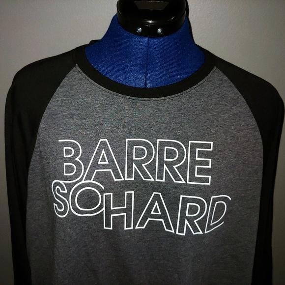 Soffe Tops - NWT - Barre So Hard Jersey T-Shirt